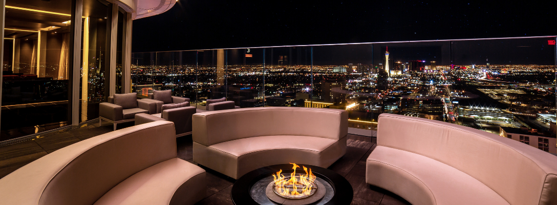 Legacy Club Rooftop Bar in Las Vegas