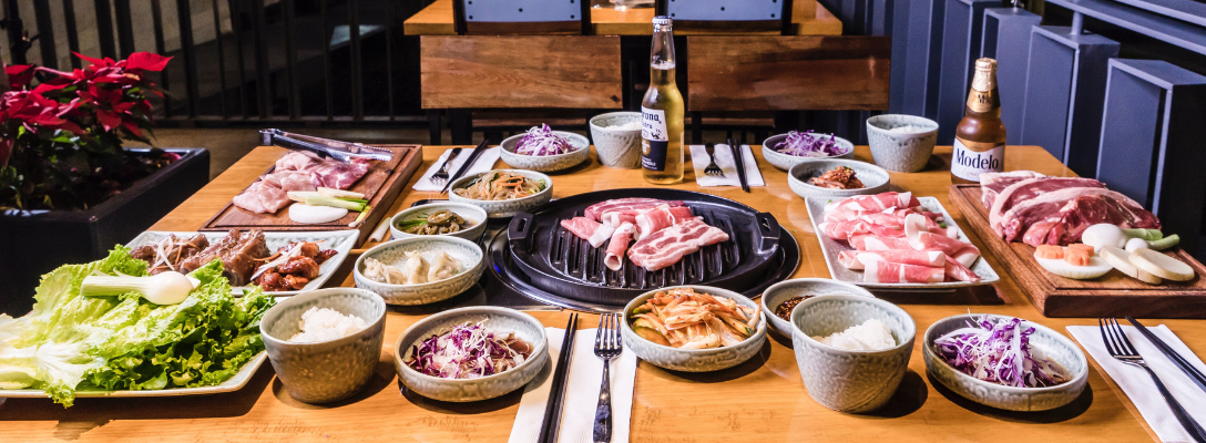 Korean Barbecue at Las Vegas Asian Restaurant