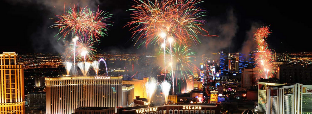 Las Vegas Fireworks for Fourth of July