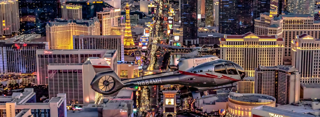 Helicopter Tour for Best Views of Las Vegas