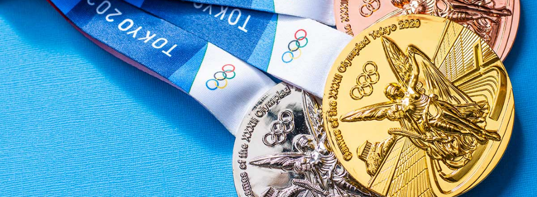 2020 Tokyo Olympic Medals